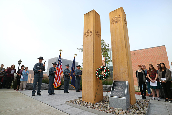 Photo: The SUNY Oneonta 9-11 Memorial