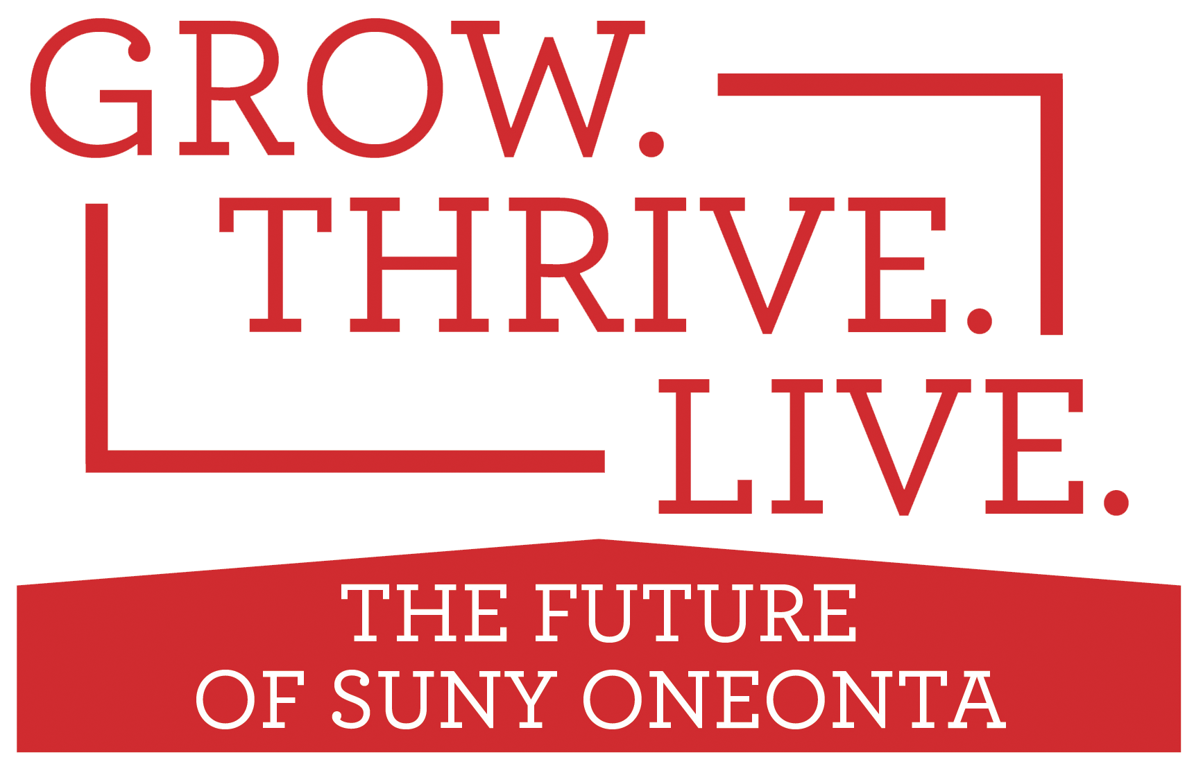 Grow.Thrive.Live. Campaign Graphic